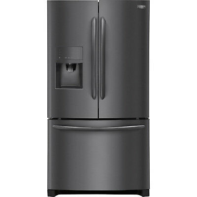 frigidaire gallery black stainless french door fghb2867td