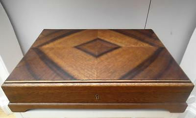 Beautiful VINTAGE Timber CUTLERY Box Canteen MADE in ENGLAND QZZQ Adelaide