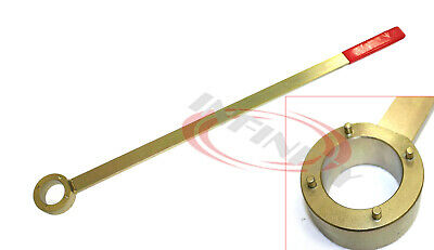 Crank Pulley Counter Holding Wrench 4 Vibration Damper Locking Vw Audi 1.8 & 2.0