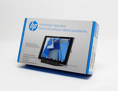 NEW HP Pro Portable Docking Station Pro Slate 12, 8 HP Pro 610 Tablet - N3R96AA