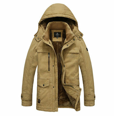 2016 New Winter Men Cotton Coat Men's Coat Fashion Warm Jacket