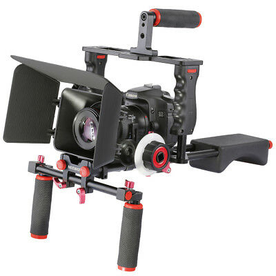 Neewer Film Movie Kit System Support Rig Video Cage for Canon Nikon Sony DSLR