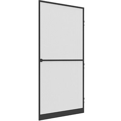 FLY SCREEN DOOR COMFORT 100x215 aluminium frame anthracite Insect protection