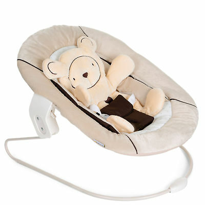 New Hauck Hearts Beige Alpha 2 In 1 Alpha Baby Bouncer Highchair Seat From Birth