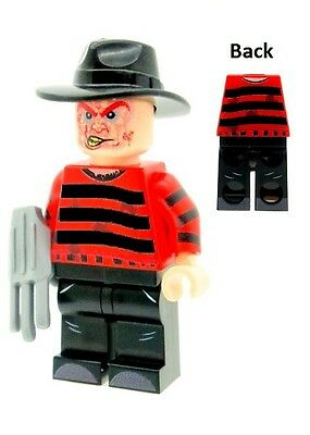 Custom Designed Minifigure - Freddy with Razor Hand Printed On LEGO Parts