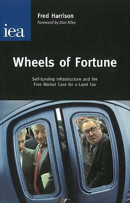 """AS NEW"" Wheels of Fortune, Harrison, Fred, Book"