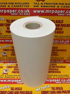 ZEBRA RW420 THERMAL Paper Rolls NOT LABELS (Box of 20) from MR PAPER