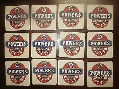 12 POWERS Brewery,Queensland ,Closed ,no more,collectable COASTERS