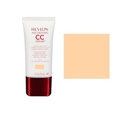 Revlon Age Defying Colour Correcting Cc Cream Light/ Medium 020 Brand New