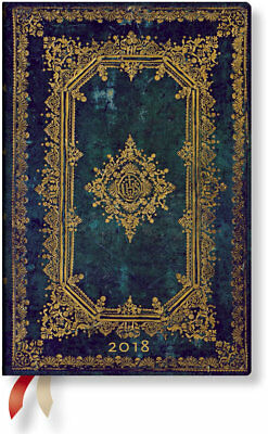 Diary 2018 Paperblanks Astra Mini Day to Page 140 x 95 mm