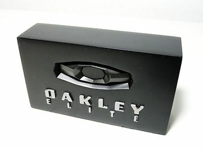 OAKLEY ELITE BLOCK DISPLAY PLATE   rare opd c-six fmj pit boss time bomb boots
