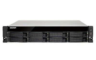 NEW! QNAP TS-863U-RP-4G 16TB 8 x 2TB WD RED 8 Bay Rack with 4GB RAM
