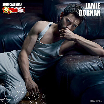 Jamie Dornan 2018 Calendar with FREE Pullout Poster : 50 Shades of Grey Star