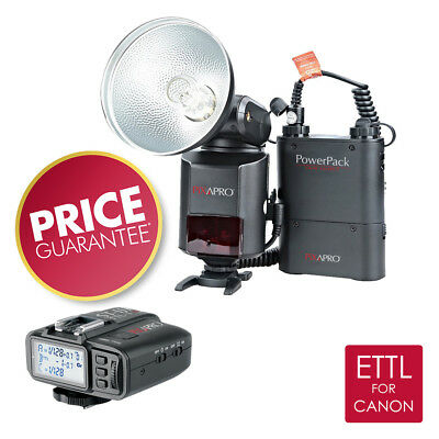 PIXAPRO® HYBRID360 ETTL Bare Bulb Flash with ST-III TTL Trigger  (FOR CANON)