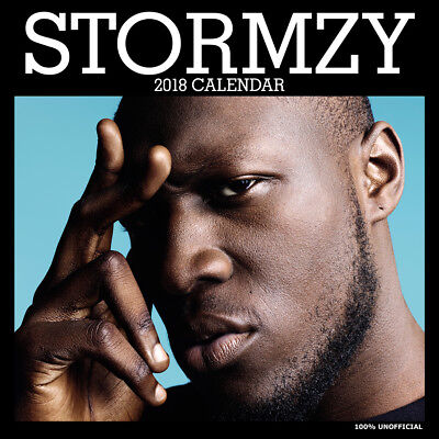 Stormzy 2018 Calendar with FREE Pullout Poster