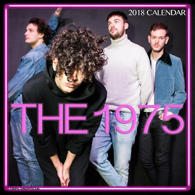 The 1975 2018 Calendar with FREE Pullout Poster