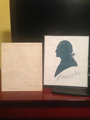 Avon George Washington Representative Gift Letter - 1976 - FREE SHIPPING