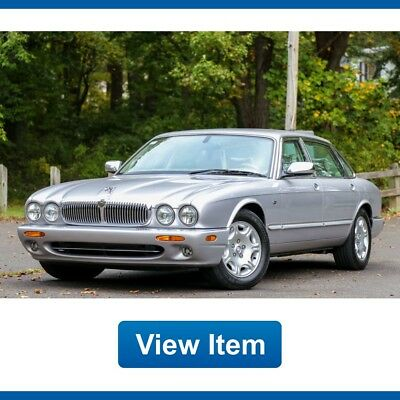 2003 Jaguar XJ Base Sedan 4-Door 2003 Jaguar Vanden Plas V8 80K Mi CARFAX Fully Serviced Rear Heated Seat
