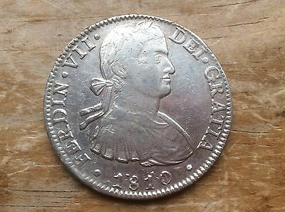 1810 Mexico 8 reals. @@ sharp detail must see@@@