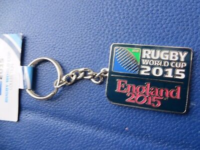 Rugby World Cup 2015 'england 2015' Key Ring Brand New