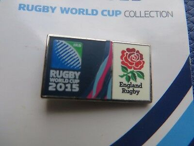 Rugby World Cup 2015 'england Rugby' Badge Brand New