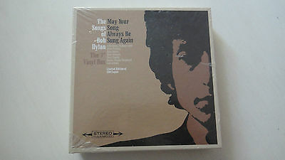 """Bob Dylan May Your Song Always Be Sung Again 7"""" Vinyl Box Limited 276/500 - OVP"""