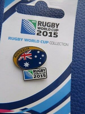 Rugby World Cup 2015 'australia' Badge Brand New