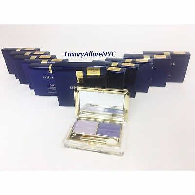 Estee Lauder Pure Color EyeShadow Duo ~ 10 Amethysts ~ Full Size - NEW IN BOX