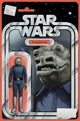 Star Wars 37 John Tyler Christopher Blue Snaggletooth Action Figure Variant Nm