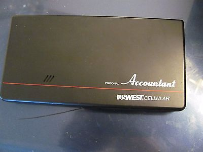 vintage US West Cellular personal accountant