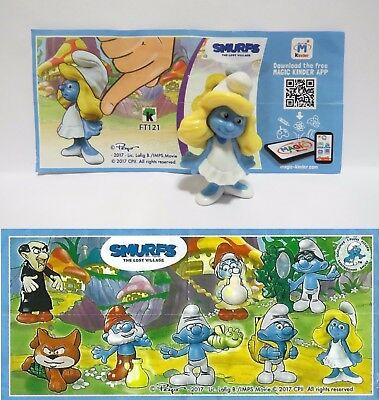 Smurfs The Lost Village - VARIANTE SCHLUMPFINE (2017) + BPZ FT121