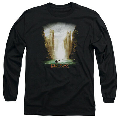 Lord of the Rings KINGS OF OLD Licensed Adult Long Sleeve T-Shirt S-3XL
