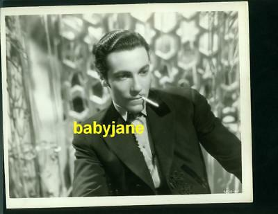 Cesar Romero Vintage 8X10 Photo Latin Lover The Devil Is A Woman 1935 Dbl Wgt
