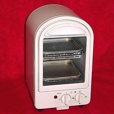 Miniature Space Saving Bagel Best Super Toasty Toaster Oven Snack Toast Small