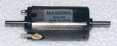 Mashima 1628 12v DC 5 pole motor - 16mm wide x 28mm long - Dual shaft