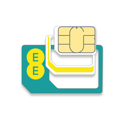 Ee 4G £10 Pack Pay As You Go Sim Card With Free 1St Class Post - Latest Multisim