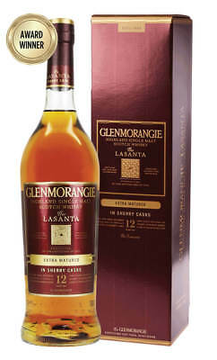Glenmorangie Lasanta 12YO Single Malt Scotch Whisky 700ml(Boxed)