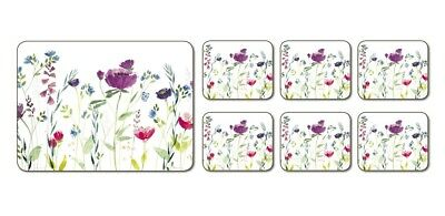 NEW Jason Spring Flowers Placemats Set of 6