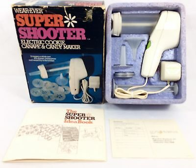 Wear-Ever Super Shooter 1-No. 70001 Electric Cookie Canape Candy Maker Complete!