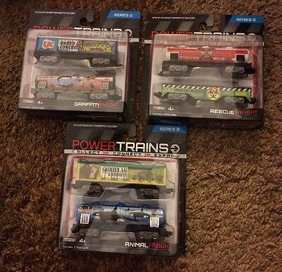 Power Trains Series 2 : Graffiti Fright, Animal Freight And Rescue Freight