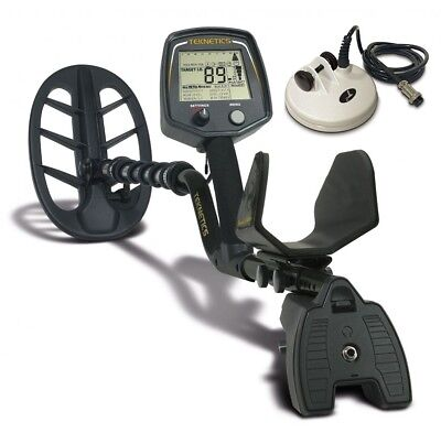 """Teknetics T2 Ltd Special Metal Detector with 11"""" and 5"""" DD Waterproof Coil"""