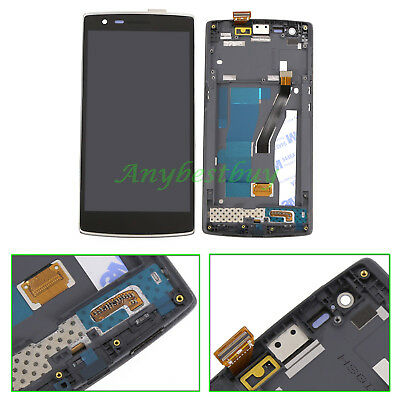 For Oneplus One 1+ A0001 LCD Screen Display+Digitizer Touch Glass+Frame Assembly