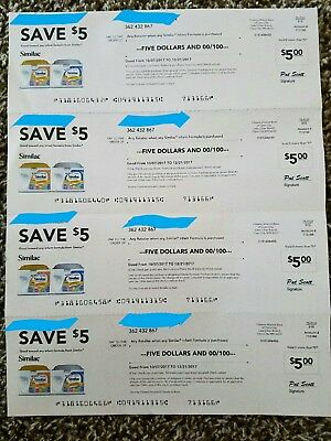 Similac Infant Baby Formula Checks Coupons $20.00 Value!