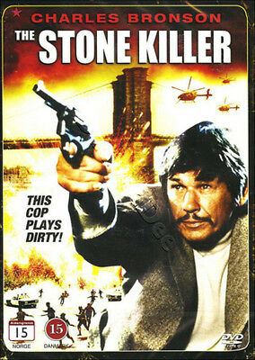The Stone Killer NEW PAL Classic DVD Charles Bronson