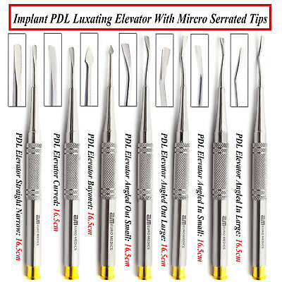 Dental PDL Proximators Luxating Root Elevators Implant Oral Surgery Instruments