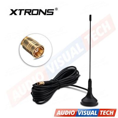 DAB Digital Antenna Aerial for Car Stereo Radio with SMB Plug Connector 4m Cable