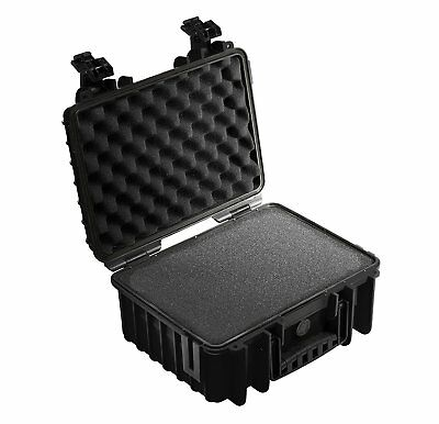 B&W type 3000 Outdoor Case for Camera with Pre Cut Foam - Black