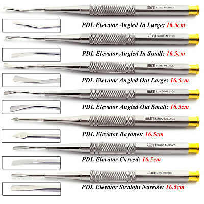 X7 PDL Luxating Elevators Oral Surgery Tooth Loosening Dental Implant Lab Tools