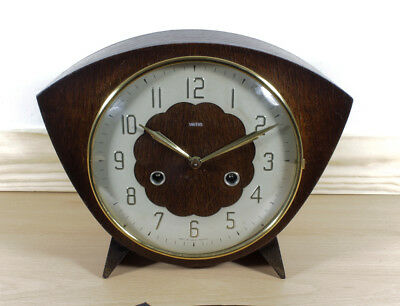 Pretty Little Smiths 8 Day Striking clock (Nice condition ) Fully serviced