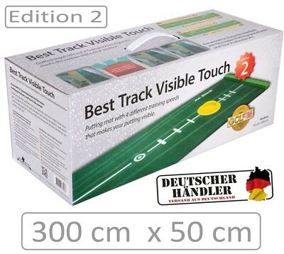 BEST TRACK Puttingmatte - Best Track Visible Touch Edt. 2 Puttingmatte - NEW